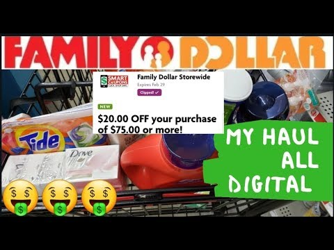 23 Items Only $1.39ea🤑 DIGITAL😁Couponing This Week @ Family Dollar $5off$25🤑 COVID-19 Survival  Tips
