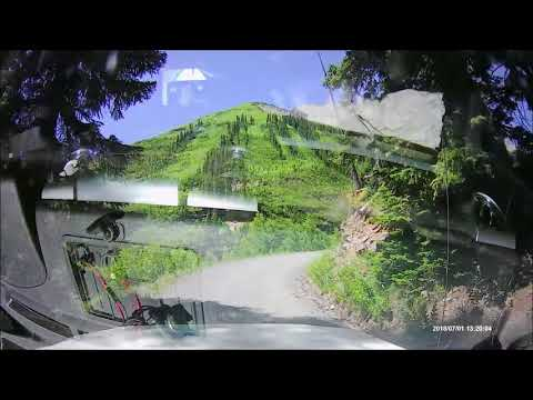 Crested Butte Co Gothic Road Snow Drift Crossing