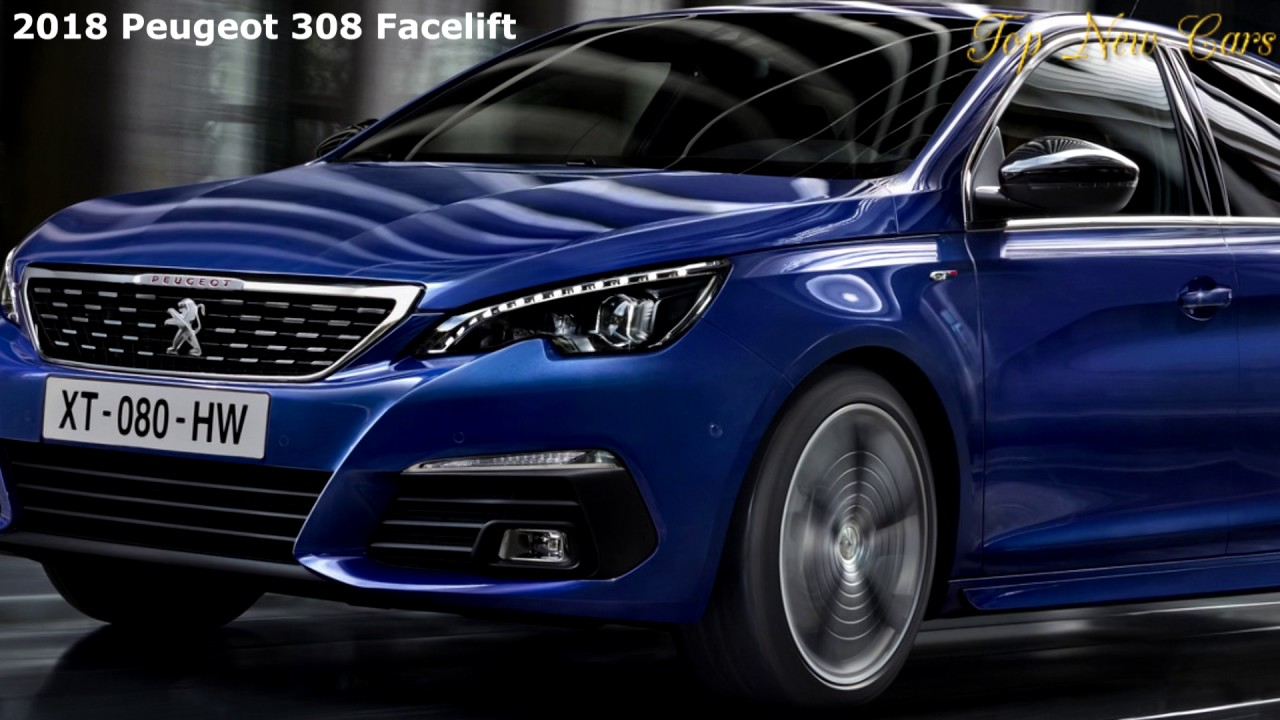 2018 peugeot 308 facelift brings new diesel 8 speed auto 1080q youtube. Black Bedroom Furniture Sets. Home Design Ideas