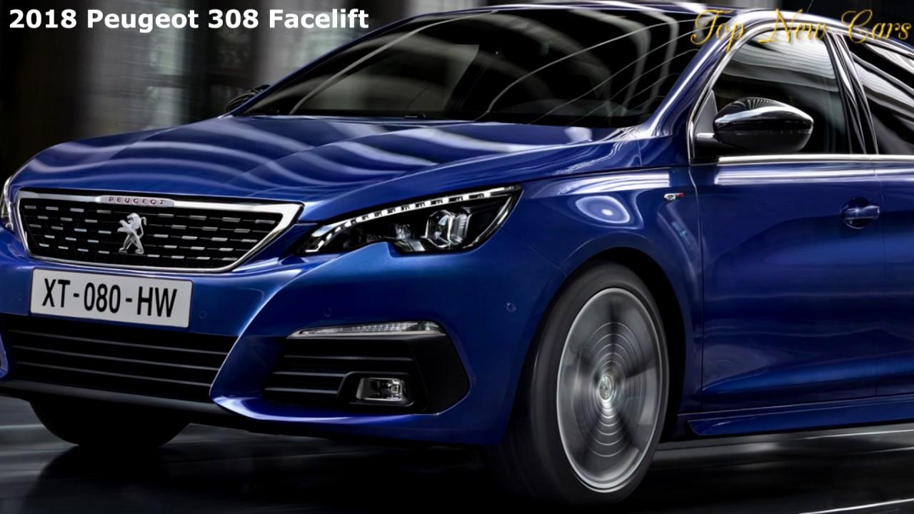 2018 peugeot 308 facelift brings new diesel 8 speed auto. Black Bedroom Furniture Sets. Home Design Ideas