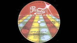 SHARON REDD- NEVER GIVE YOU UP