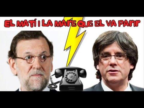Un imitador de Puigdemont logra hablar con Rajoy