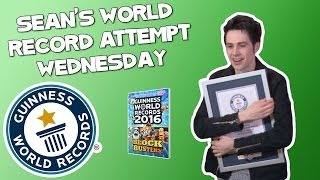 WEDNESDAY: Trying to break a Guinness World Record