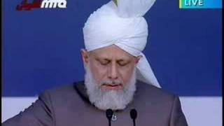 Khilafat Centenary Jalsa UK 2008 - Second Day Address - 4/11