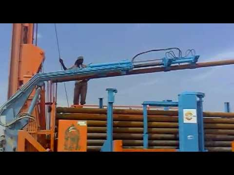 PLC  operated Hydraulic Drilling Rig  (APL DRILLING - TIRUCHENGODE)