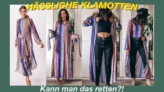 Hässliche Klamotten retten   Von Trash to Fab nur mit kombinieren   Ihr habt entschieden