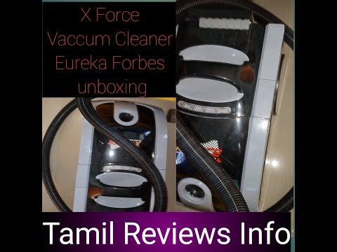 Unboxing Vaccum Cleaner Eureka Forbes X Force.