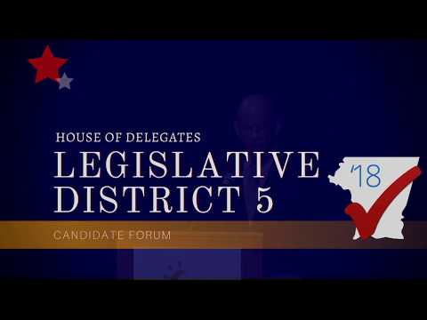 House of Delegates Legislative District 5 Forum 2018
