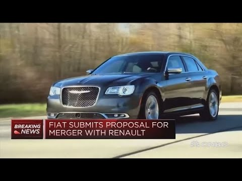 Fiat Chrysler submits proposal for merger with Renault | Squawk Box Europe