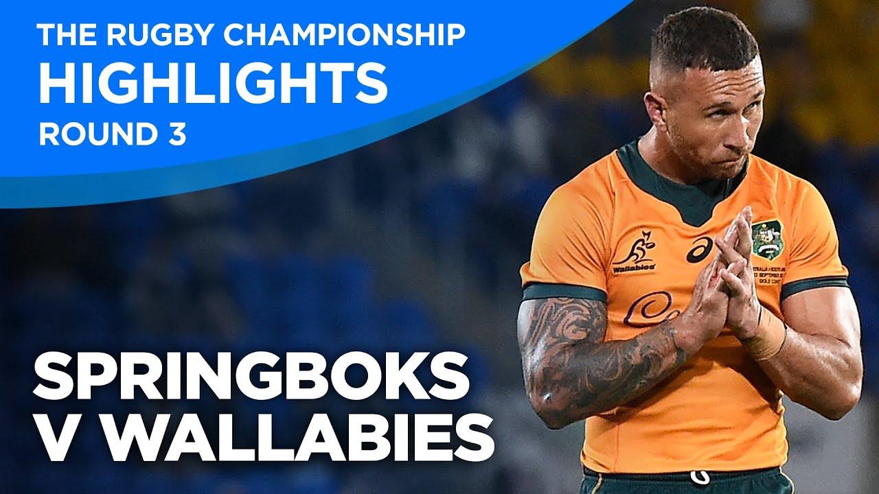 The Rugby Championship 2021: Springboks v Wallabies Highlights [Round Three]