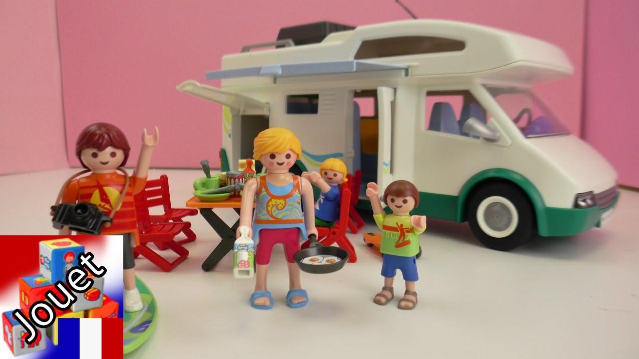 Camping playmobil montage du camping car familial de la - Camping car playmobil pas cher ...