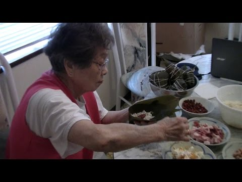 Mom's Sticky Rice Dumplings In Bamboo Leaves 粽子 (Zhongzi)
