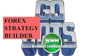 Foreх Strategy Builder Pro краткая инстукция для руской версии