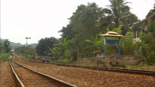 [kompilasi] Train at Nagreg Station