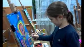 """Уроки рисования для детей от 5 лет.""""Полосатая фантазия."""" Рисуем животных."""