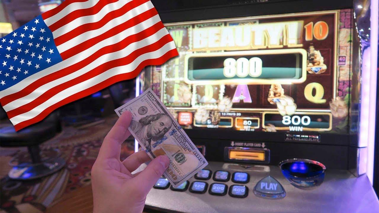 где разрешены казино в сша