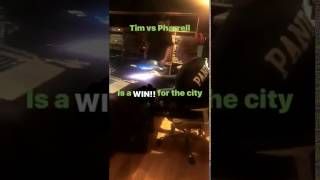 Timbaland in Studio for The Beat Battle VS. Pharrell