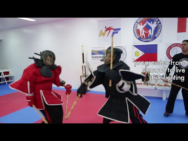 Arnis - Sinawali To Live Stick Fighting