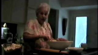 Granny Ida Making Mandel Bread