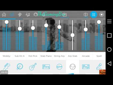 MMJ (Music Maker Jam) Basic tutorial: record your own voice