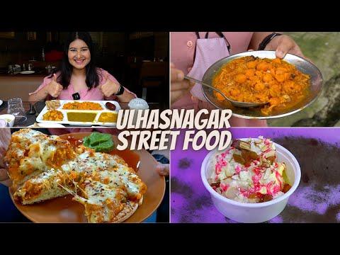 ULHASNAGAR Street Food | Thali, Chaat, Falooda, Pizza & More
