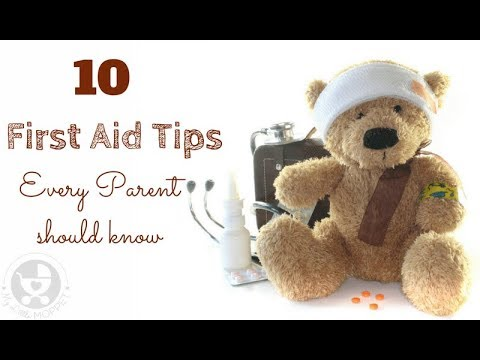 10 First Aid Tips for Parents