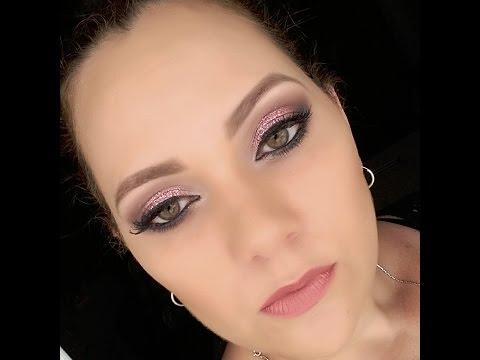 Maquiagem para natal  2015 - Makeup Christmas 2015