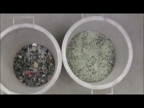 Recycled Glass Application Video