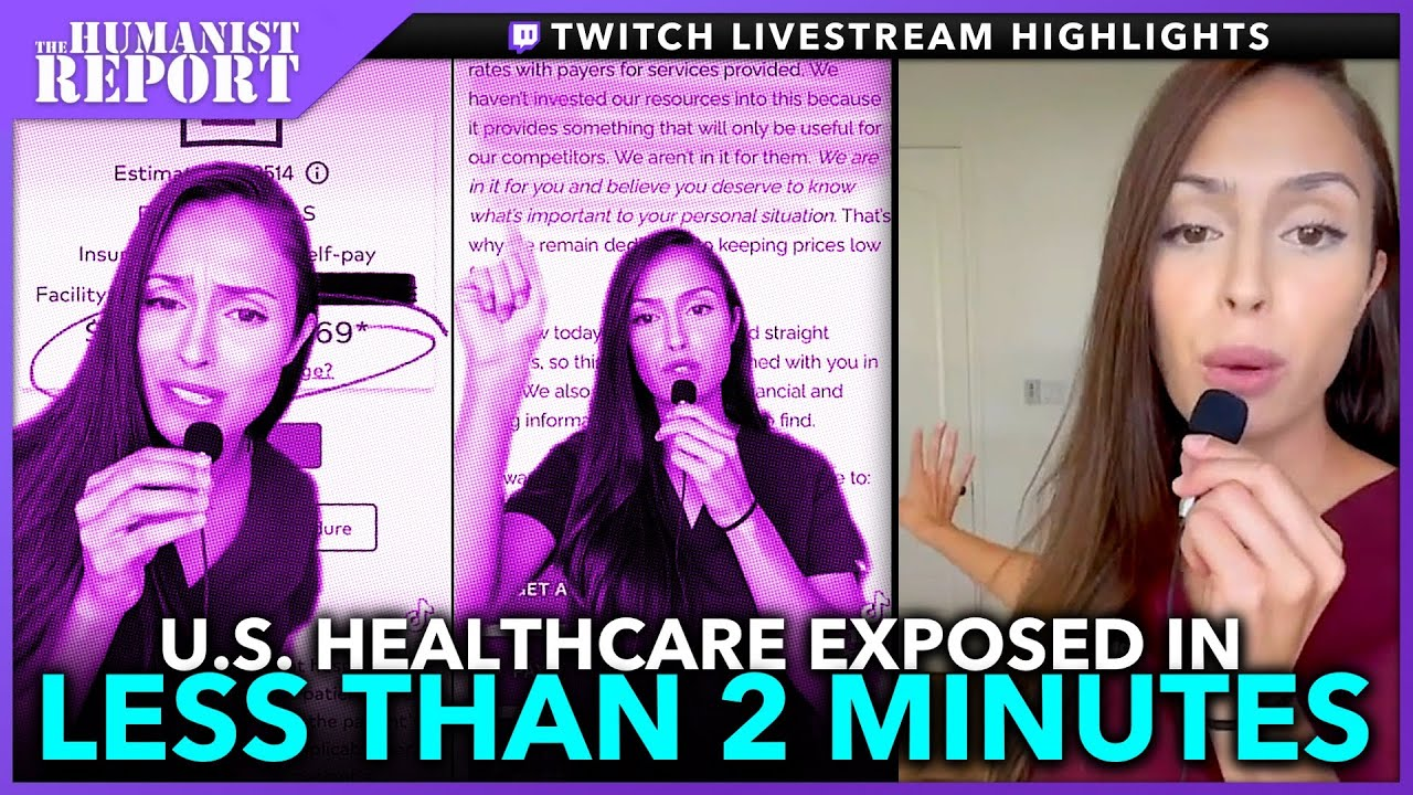 Download Nurse Goes Viral on TikTok For Exposing How U.S. Healthcare is a SCAM