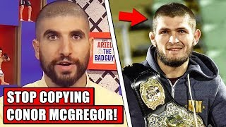 Ariel Helwani criticizes Khabib for copying Conor McGregor