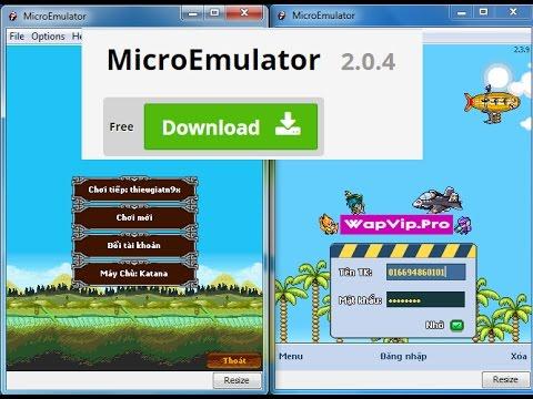 Giả Lập MicroEmulator Trên Máy Tính , Chơi Game Java Siêu Mượt Trên Pc - Bom Bom Channel