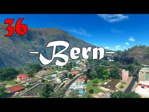 Cities Skylines: Bern Mountain Village! (36)