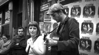 Trevor Moss and Hannah-Lou - Cheap Wine (Rough Trade West, 16th April 2011)