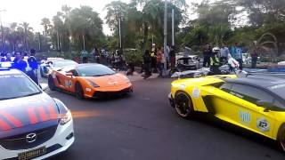 Lamborghini Club Indonesia - Bull Run V East Java