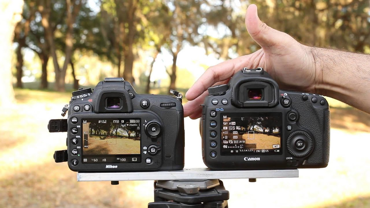 Nikon D7100 Movie Mode Comparison - With the Canon 5D Mark III - YouTube