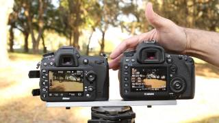 Nikon D7100 Movie Mode Comparison - With the Canon 5D Mark III