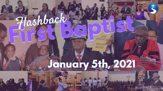 Flashback First Baptist: January 5th, 2021