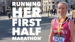 Running her first half marathon - what did she learn?