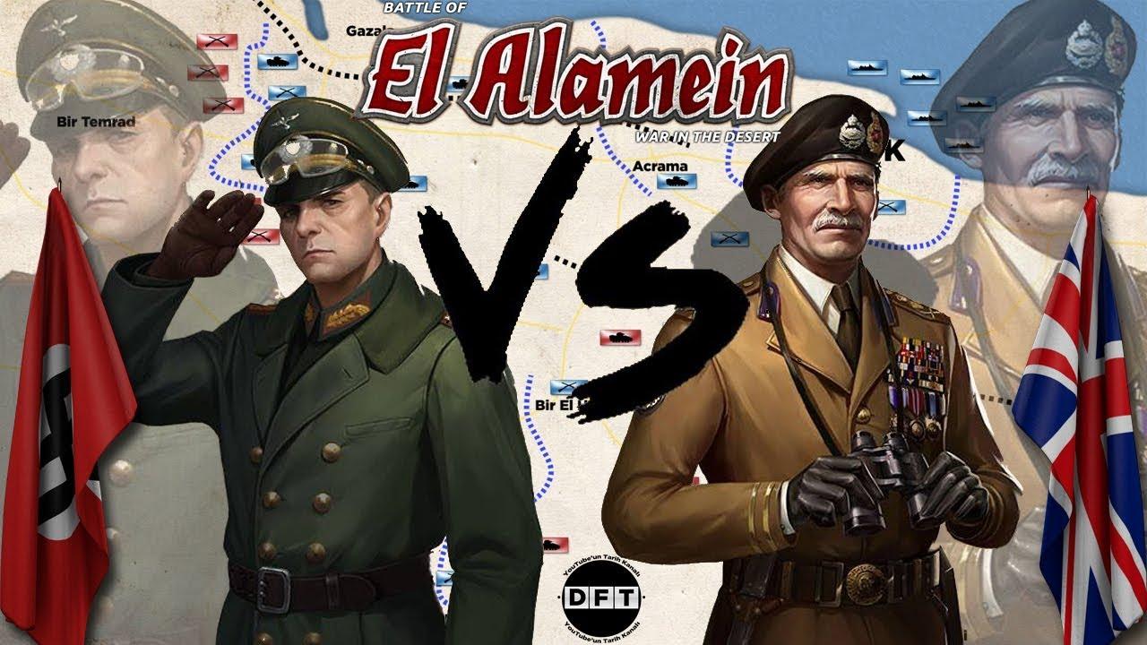 GAZALA ve El ALAMEYN MUHAREBELERİ 1942 || 2D Savaş || 2.Dünya Savaşı: Kuzey Afrika Cephesi #2