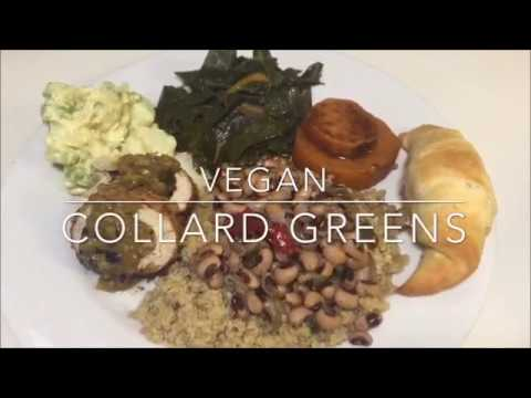 Lip Smackin Vegan Collard Greens! | Vegan Soul Food