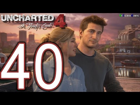 UNCHARTED 4 A Thief's End Walkthrough - Part 40 - Ending