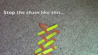 Fast & Easy Homemade Kinetic Stick Chain