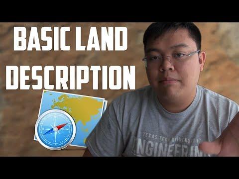 How to Describe Land as a Petroleum Engineer