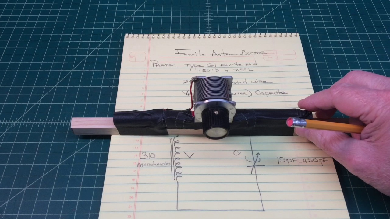 Building a Ferrite Antenna Booster
