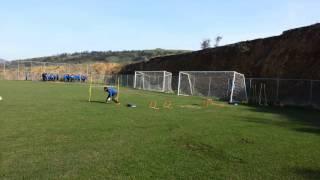 Goalkeeper Training FC Levadiakos 10/01/2015