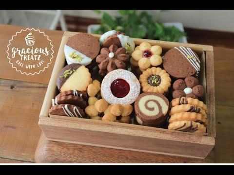 Butter Cookie Box | Butter & Chocolate Cookie Variations