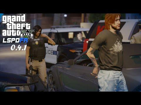 GTA V   LSPDFR 0.4.1 Undercover Female Patrol - LSPD  #Roadto200