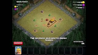 Clash of Clans level 2 - Goblin Forest