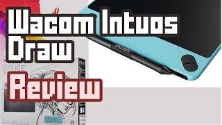 Das beste Grafiktablett für Einsteiger unter 80 Euro| Wacom Intuos Draw Review / Installation