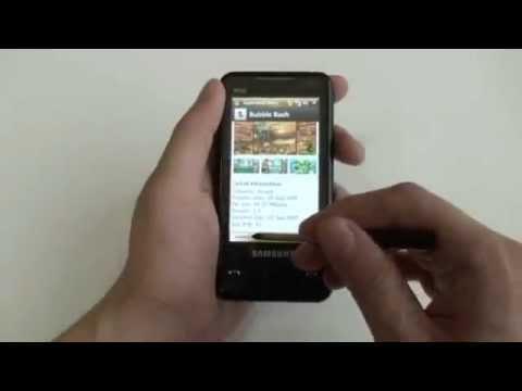 Tienda de Aplicaciones Samsung - Guía de Uso (En Samsung Omnia SGH-i900)